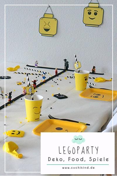 Alles für die Legoparty
