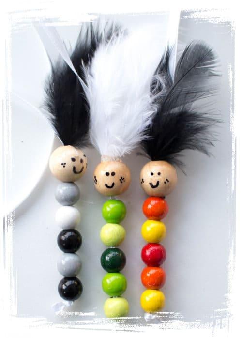 buecherwuermer basteln handmade kultur