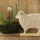 Holzlämmer für Ostern