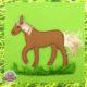Pferdeschwanz für einen Pferdeschwanz - Fühlbuch für Kleinkinder