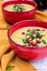 Orientalische Brokkoli-Suppe