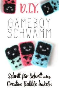 Gameboy Schwamm aus Creative Bubble