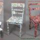 Möbel mit Papier verschönern Workshop Berlin 27.1.18