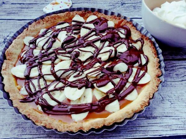 Banoffee Pie – eine Leckerei mit Bananen, Toffee und Schokolade