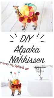 DIY: süßes Alpaka-Nähkissen