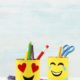 Blink, blink! Macht die Emoji-Dose ...