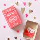 DIY-Streichholzschachtel zum Valentinstag *FREE PRINTABLE*