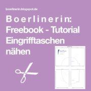 Freebook - Eingrifftaschen nähen