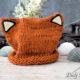 superniedliche Fuchsmütze einfach selber stricken – für Anfänger geeignet