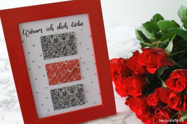 diy geschenk zum valentinstag warum ich dich liebe. Black Bedroom Furniture Sets. Home Design Ideas