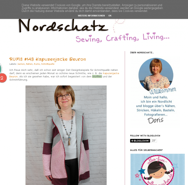 Nordschatz Sewing Crafting Living