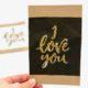 Last Minute Karte zum Valentinstag