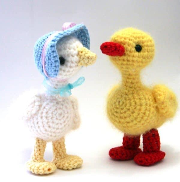 Gans und Ente häkeln - HANDMADE Kultur
