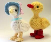 Gans und Ente häkeln