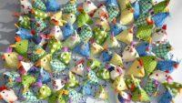Mini Huhn für die Osterdekoration nähen – einfaches Tutorial für Anfänger