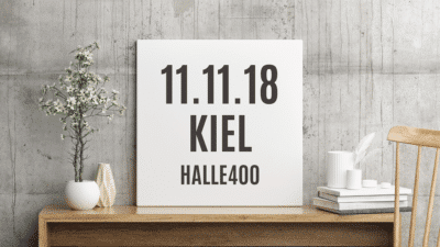 Deine eigenART Kiel am 11.11.2018