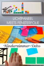 Lichtpaneel fürs Kinderzimmer: DIY-Wanddeko