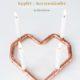 DIY Kerzenständer aus Kupfer in Herzform