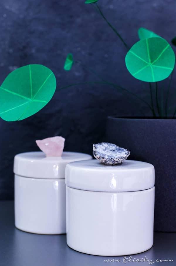 DIY Kristalldosen