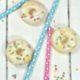 Eisschokolade mit Mini-Donuts