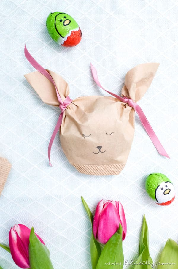 Hasentüten für Ostergeschenke