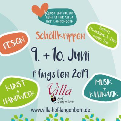 Kunst und Kultur rund um die Villa Hof Langenborn 2019