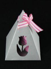 Pyramiden-Geschenkverpackung [Plotterfreebie & Bastelvorlage]