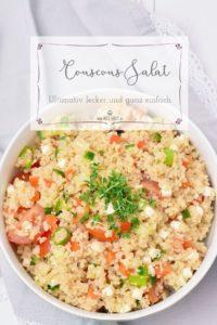 Ultimativ leckerer Couscous Salat