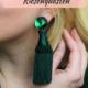 Schicke Ohrringe aus riesen Quasten