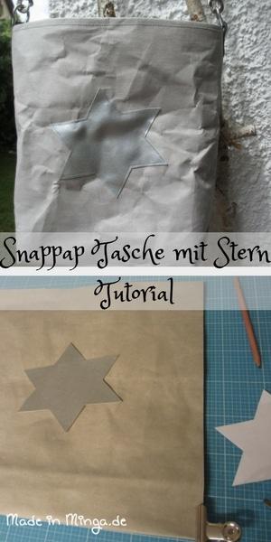 Schnittmuster & Anleitung: Snappap Tasche nähen - HANDMADE Kultur