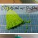 DIY : Taschenanhänger selber machen, Quasten & Tasseln