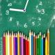 Kunterbunte Schul Uhr basteln