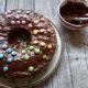 Bunter Marmorkuchen mit viel Schokolade