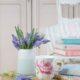 Frühlingsfrisch: himmelblaue Perlhyazinthen