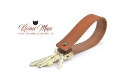 handgemachter echtleder Schlüsselanhänger