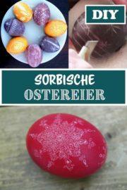Sorbische Ostereier kratzen