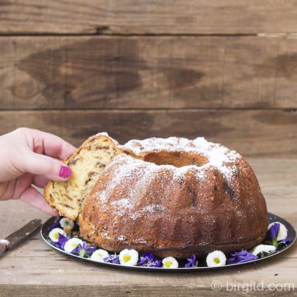 Eierlikörkuchen mit Schokolade - schmeckt nicht nur dem Osterhasen [Birgit D]
