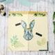 Urban Jungle-inspirierte Endloskarte für Ostern – es wird magisch