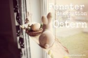 Fensterdekoration an Ostern