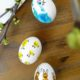 Fingerabdruck-Ostereier für ganz Kleine