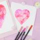 Watercolor (Lettering) super einfach mit Brushpens gestalten