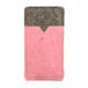 Handytasche aus Filz und rosa Kork nach Maß