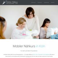 Nähkurse zu Hause für dich und deine Freunde - Mobiler Nähkurs Köln