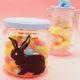 Last Minute Ostergeschenke selber machen aus Einweggläsern