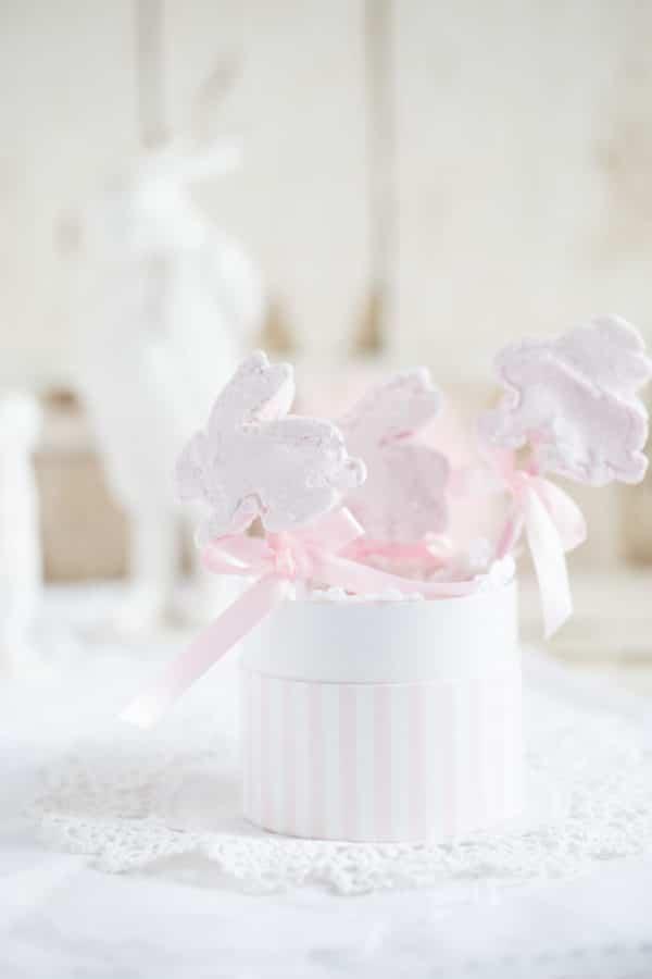 """Himbeer-Marshmallow-Häschen!"" [Oster-Idee]"
