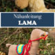 Nähanleitung Lama + Schnittmuster & Video