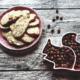Nuss-Cookies mit Mandeln und Haselnüssen
