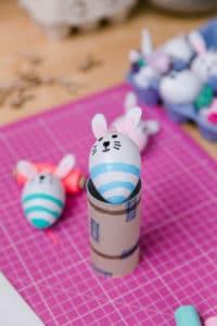 Osterhasen, Einhörnern und andere Ostereier | DIY