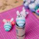 Ostereier DIY | Osterhasen, Einhörnern und andere Ostereier