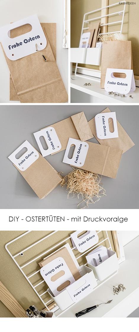 """Osternester """"To Go"""" - mit Druckvorlage"""